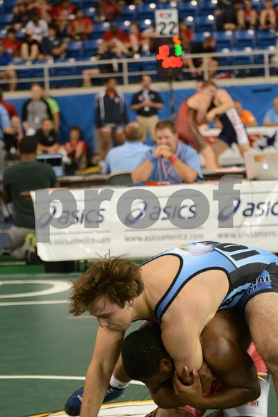 2014 Junior Greco Nationals <br /> 195 - Champ. Round 1 - Keyaad Coley (North Carolina) over Donovan Doyle (Iowa) (TF 10-0)