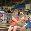 2014 USAW Junior Greco Nationals<br /> 182 - Cons. Round 6 - Jeremiah Imonode (Arizona) over Mitch Bowman (Iowa) (Dec Dec 11-9)