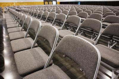 Empty Auditorium --- Image by © Corbis