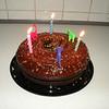 My ooey Gooey chocolate Birthday Cake :9 *yum!*