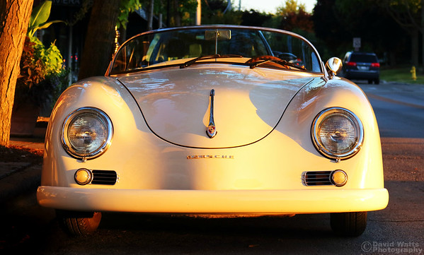 Porsche in Sweet Light
