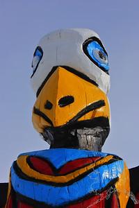 Eagle Totem Head