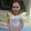 Gracie earned her Bumble Bee Wings (from Aunt Cari)