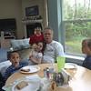 PaPa and the grandkids, minus Yenner goo, unfortunately