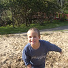 Here he is again twirling around in the sand....so funny!!