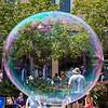 bubbles at the parade