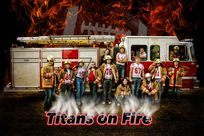 Titans on Fire