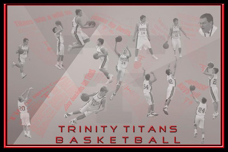Trinity Titans Basketball 2008