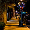 Down town Mooresville at night