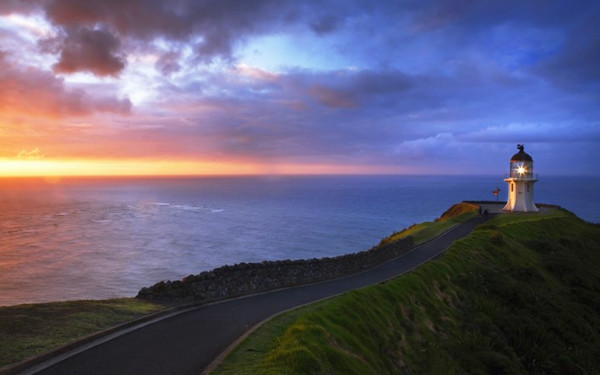 Cape Reinga Lighthouse, Aupori Peninsula, North Island, New Zealand