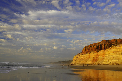 The end of a perfect day..hiking Torrey Pines . Beautiful light waiting for sunset and enjoying great company..
