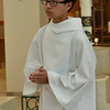 Young people from St. Martin of Tours helped serve at the Mass