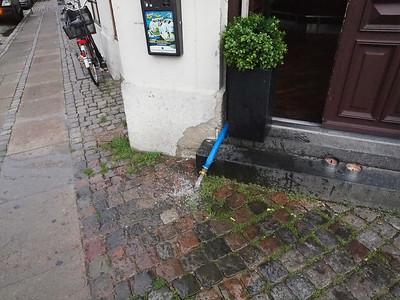 Restaurant Burger Corner på hjørnet af Lille Istedgade og Halmtorvet. Foto: Martin Bager