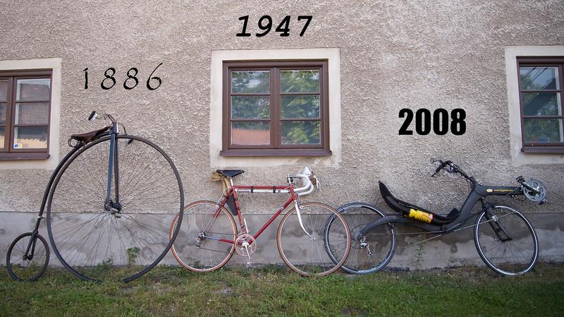 En 122-årig, en 61-årig och en nyfödd racer - 61år emellan. Dåtid, nutid och... framtid?