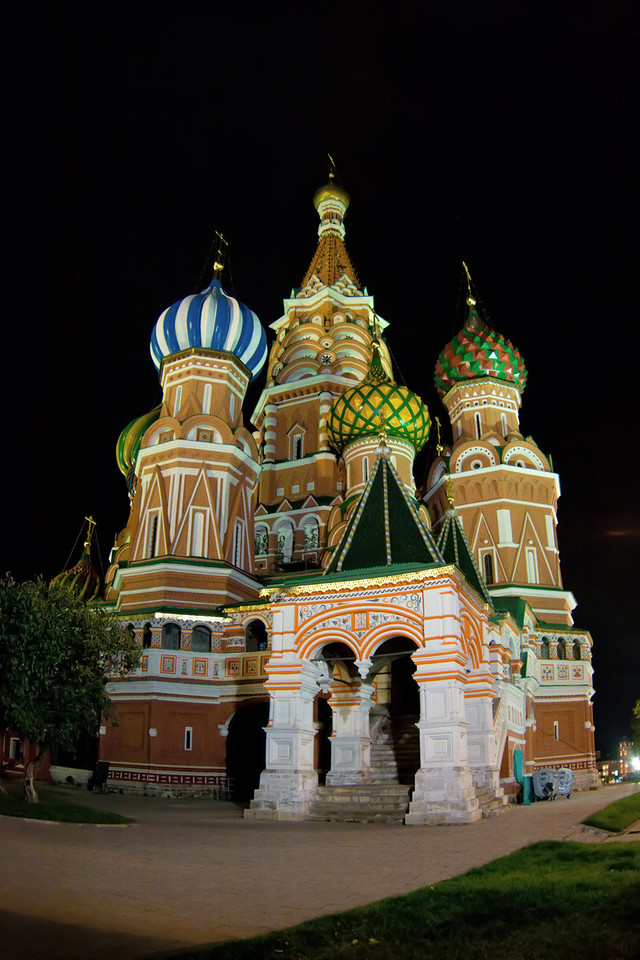 Cathedral of St. Basil the Blessed, Moscow, Russia