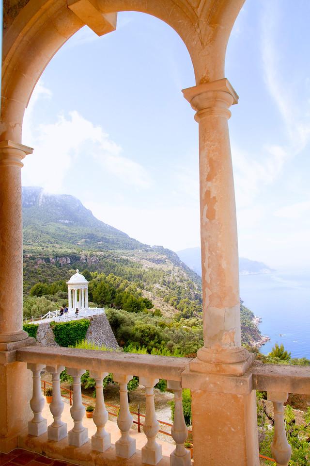 Deia mirador des Galliner Son Marroig Majorca