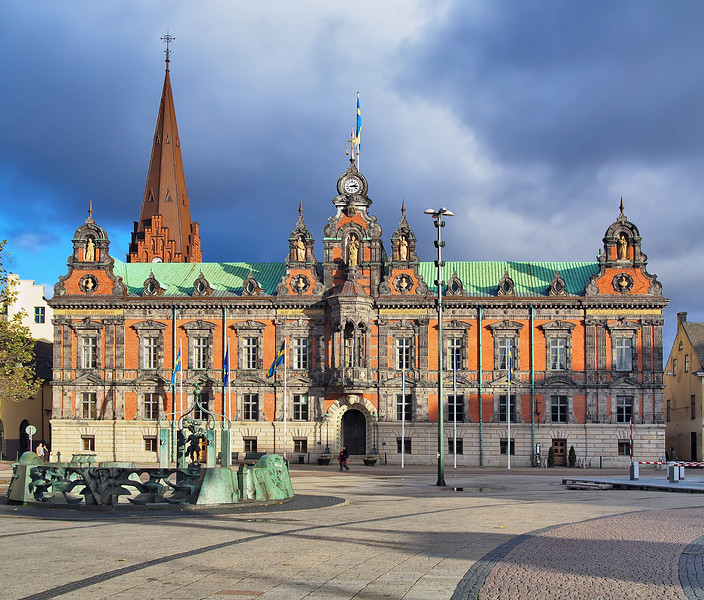 Malmo Town Hall, Sweden