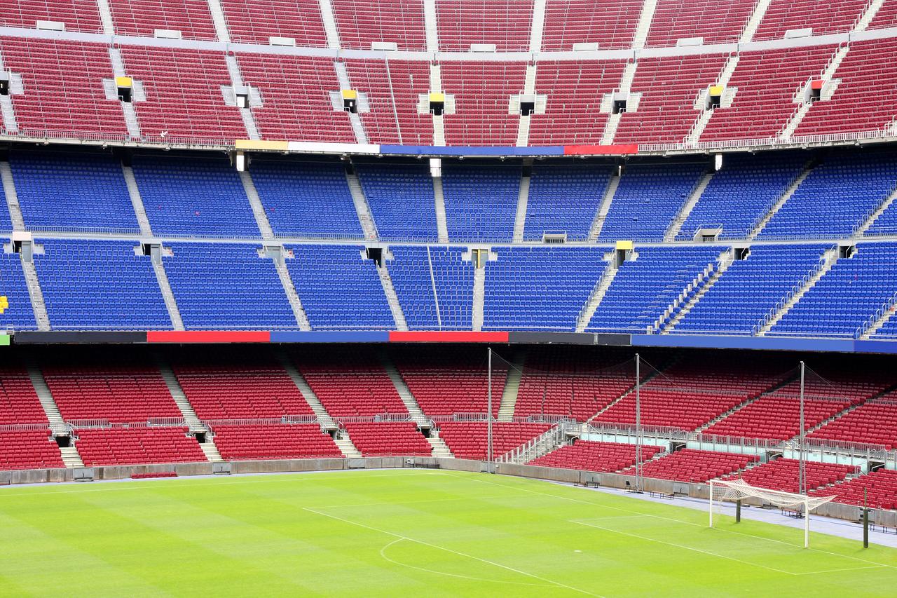 view of Nou Camp Stadium in Barcelona, FC Barcelona