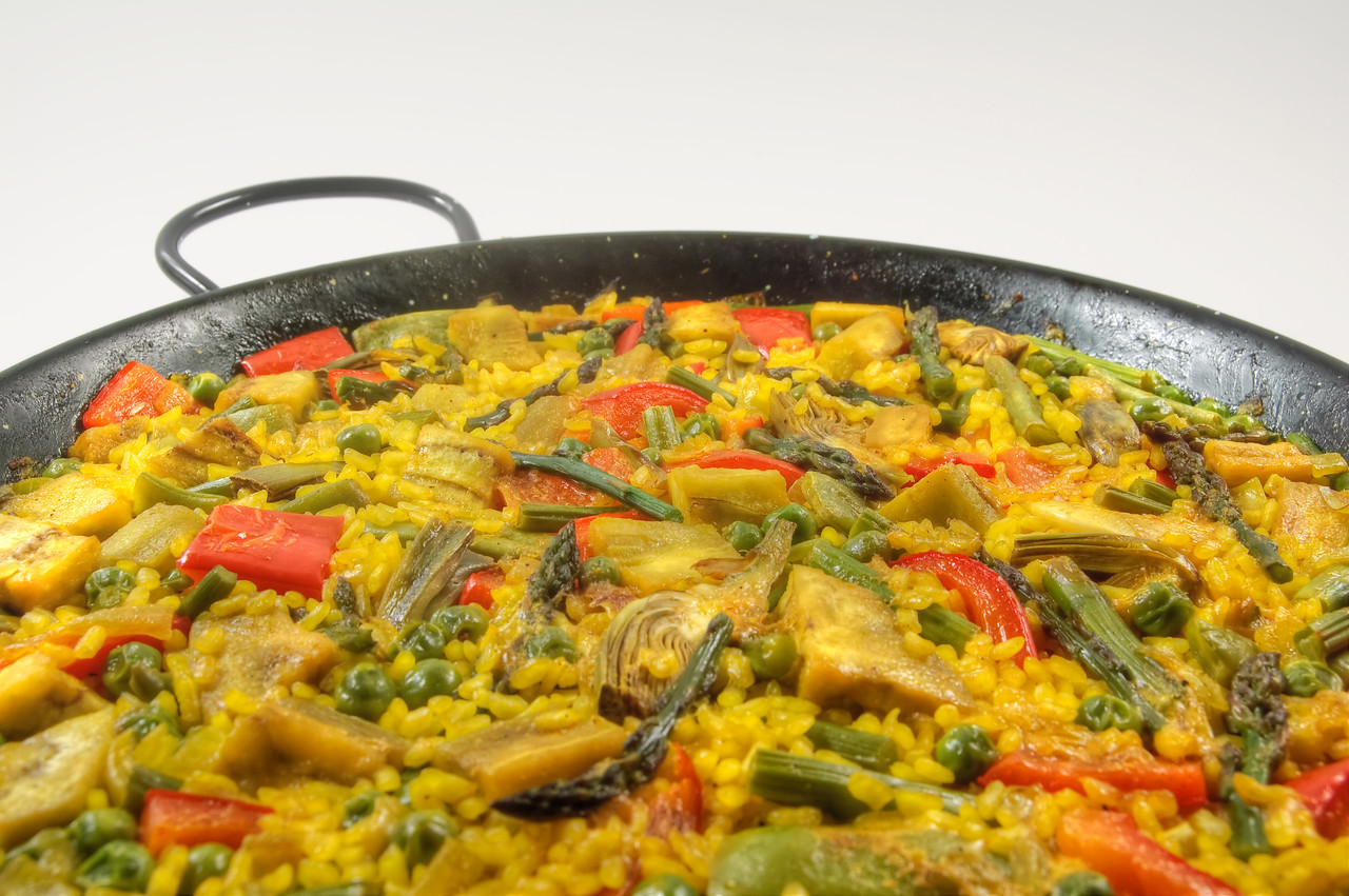 Vegetarian Paella - Spanish rice