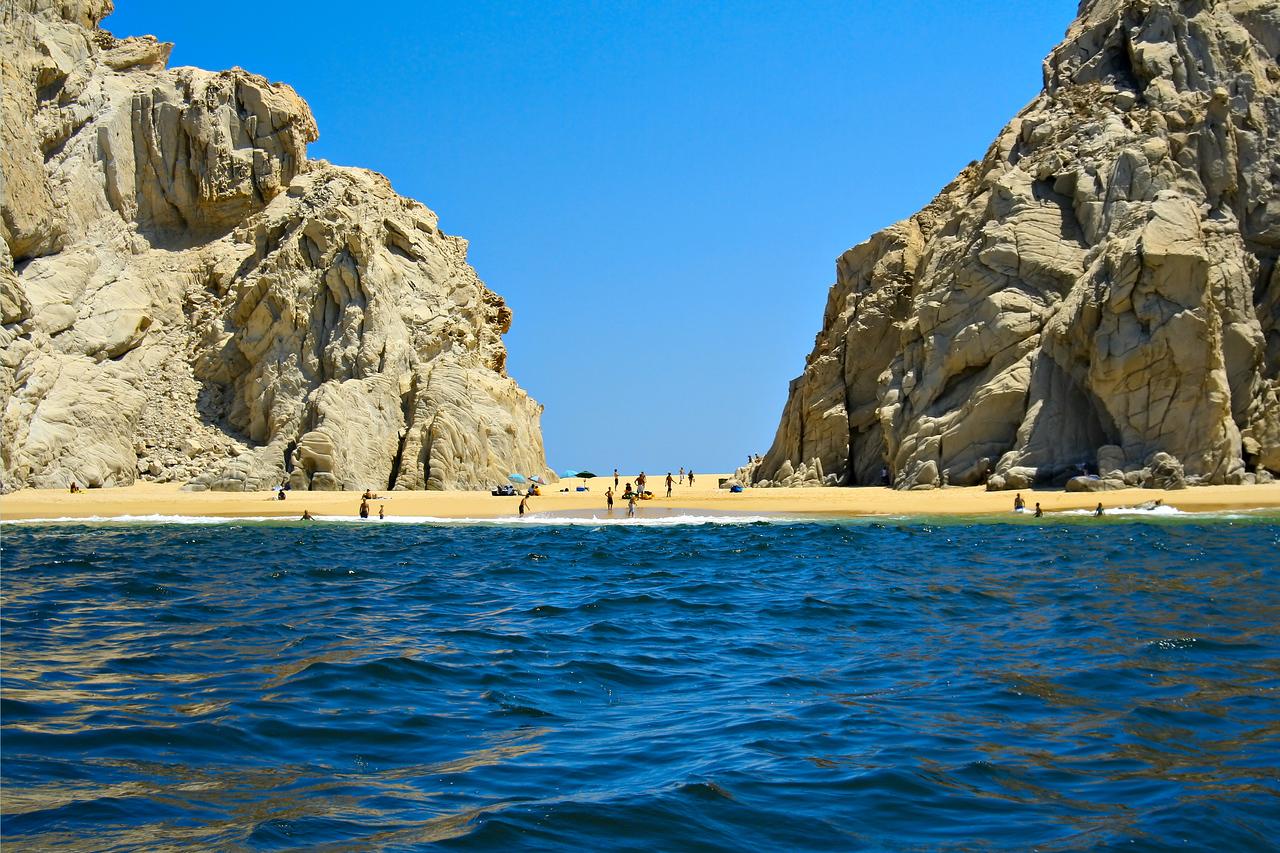 Beautiful beach in Mexico.
