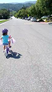 Kaitlin went from Scoot balance bike to pedal power with no training wheels today.  Mom and dad are SUPER proud!