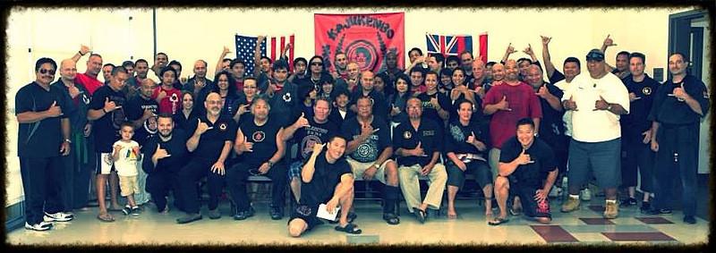 Kajukenbo International San Diego 'Ohana Unity Seminar Series 2013