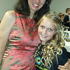 Pam Winstead and Olivia Lawrence at Parents' Night Gala