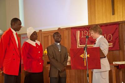Sunday Service with Rev Pauline Crispin, Hurstpierpoint