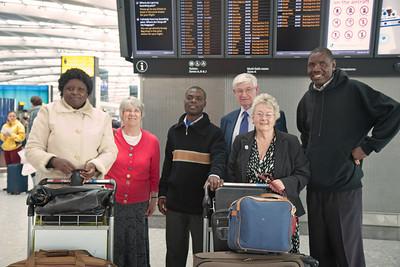 Good-bye at Heathrow