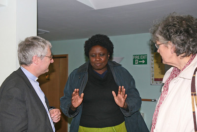 Chat with Loyce at the Welcome Service