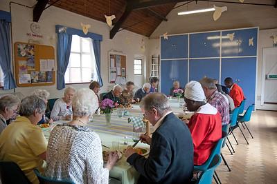 Lunch at Hurspierpoint