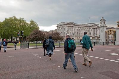Off to Buckingham Palace