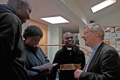 A meeting with Rev Dr David Chapman