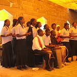 kalomo_choir_in_new_church_with_yellow_tarpaulin_roof