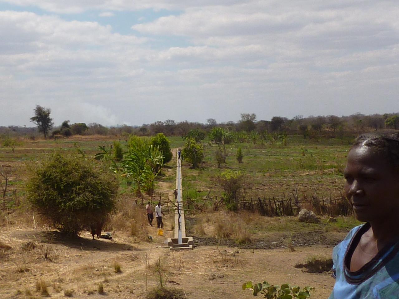 Irrigation system Bbilili Gardens