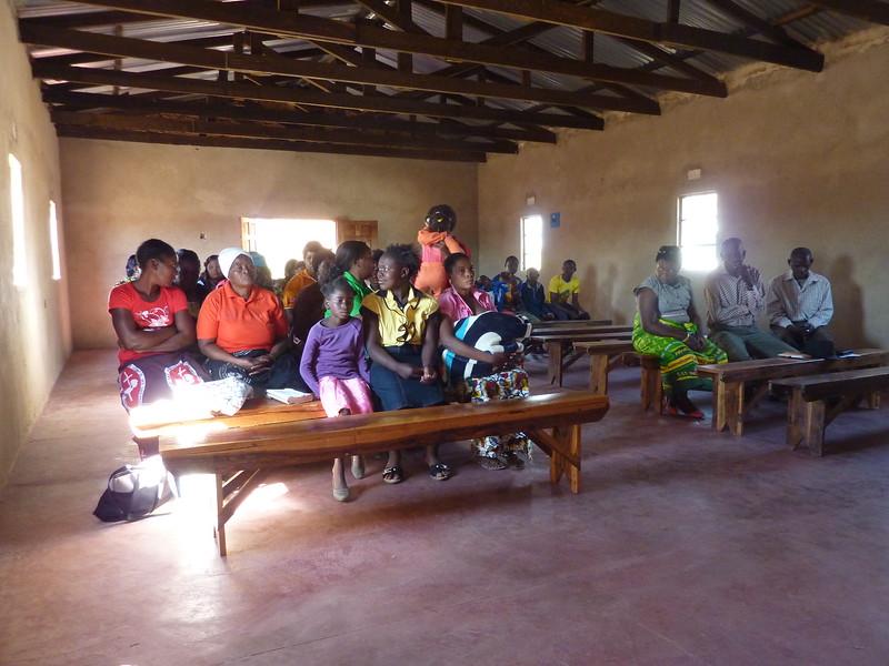 Visiting the Church at Zimba