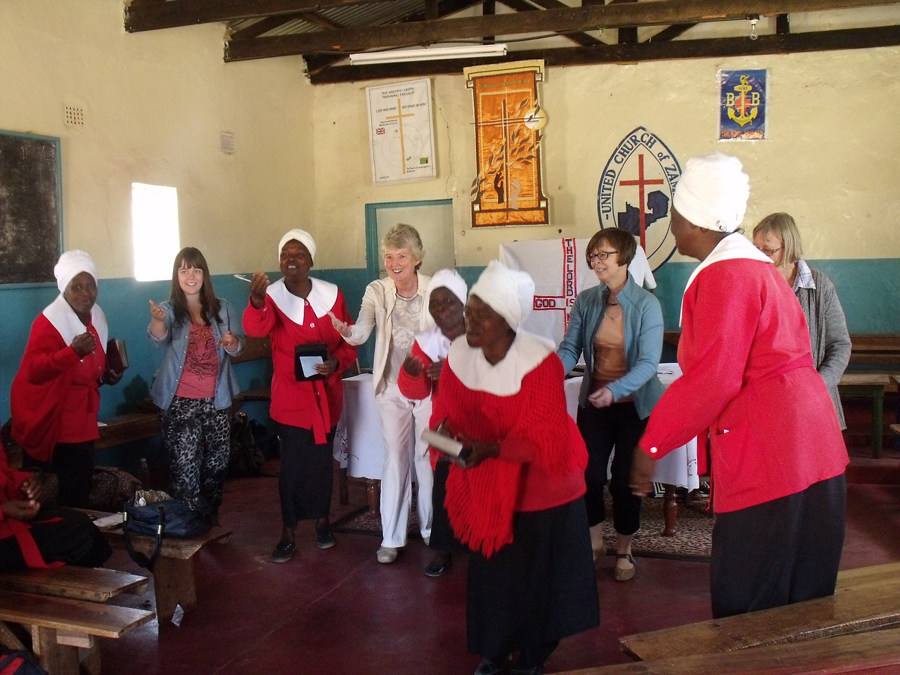 Singing with the Women's Christian Fellowship