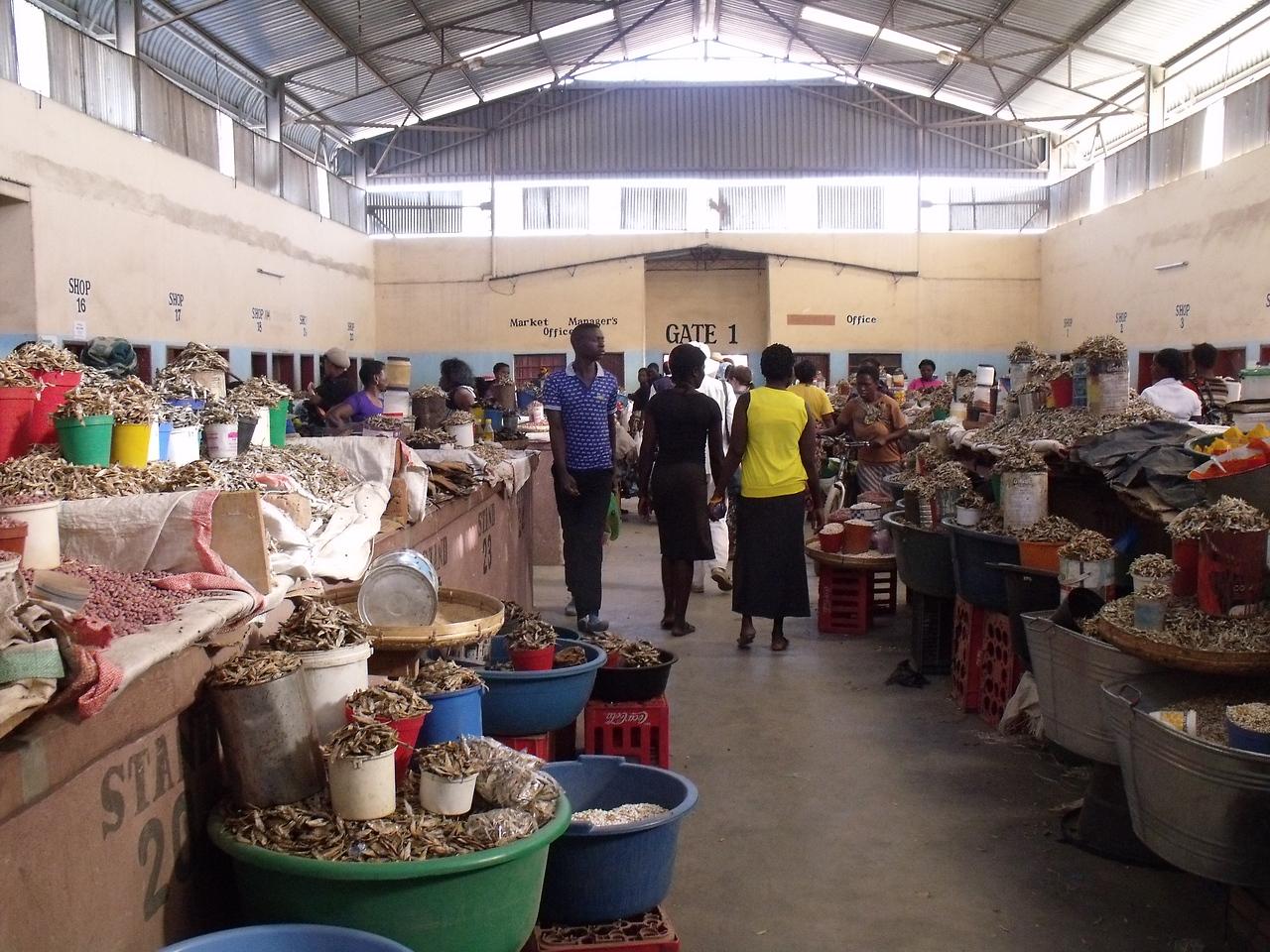 Kalomo indoor market