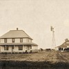 Kansas Farm retouch 1 mile north of Rozel by Conard Larnad Kans