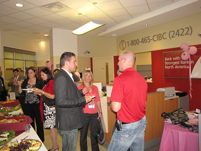 Kanata Chamber of Commerce Business after hours CIBC