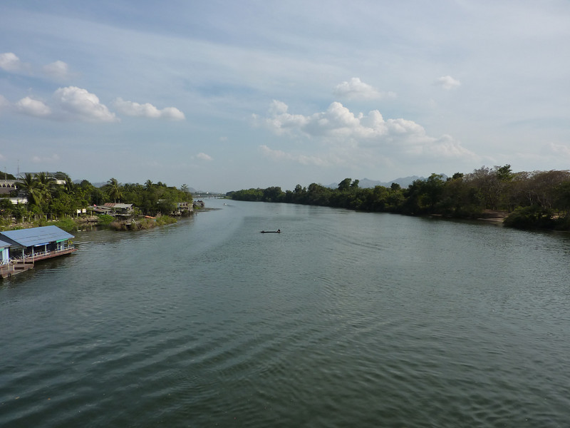 The River Kwai, taken from the Bridge