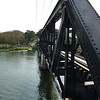 The famous Bridge on the River Kwai (actually, an identical reproduction, since the original was bombed and destroyed)