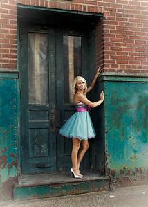 Tina in Doorway Full-