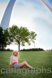 Tina Full on Grass Under Arch-1434