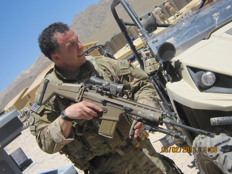LT Sean E. Wilder, <br /> Beta Omega, <br /> United States Navy, 2012, Afghanistan