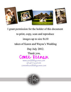 CBC Grant Permission KarenWayne Wedding