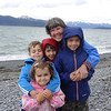 2012 Homer Spit.  The best four grandchildren on the planet.
