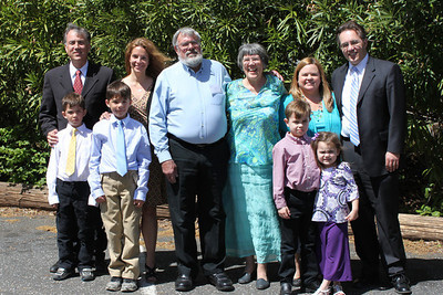 2013 April Russ Mohn's family at his Celebration of Life.