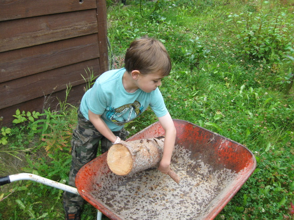 2012 Hugh comes from a long line of wood gatherers.