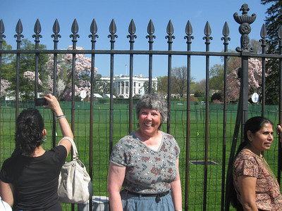 2010 April obligatory photo in front of the White House
